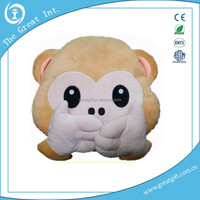 2015 Round Ball Monkey Plush toy Stuffed Animals Personalized New Design Plush Toy Monkey