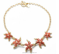 Cheap Fashion Cute Starfish Necklace From China Jewelry Vendor