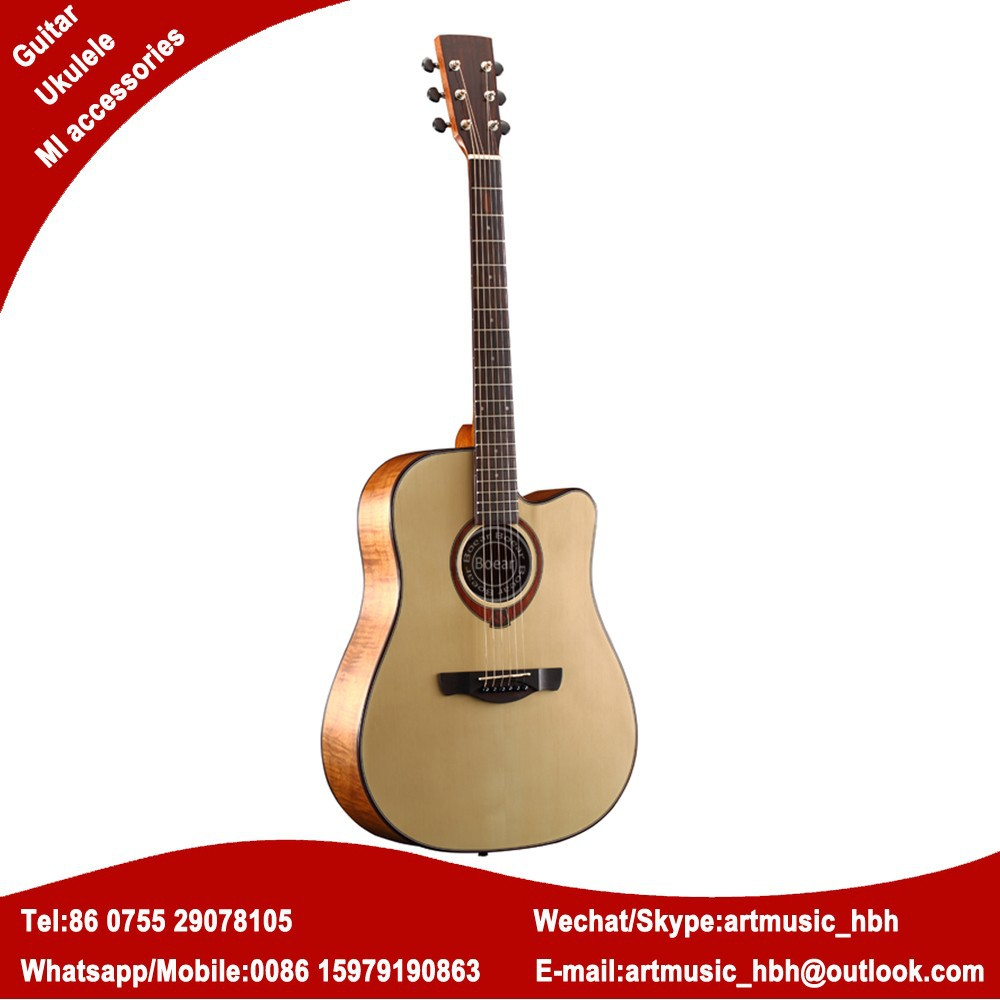 ABS binding acoustic guitar copy