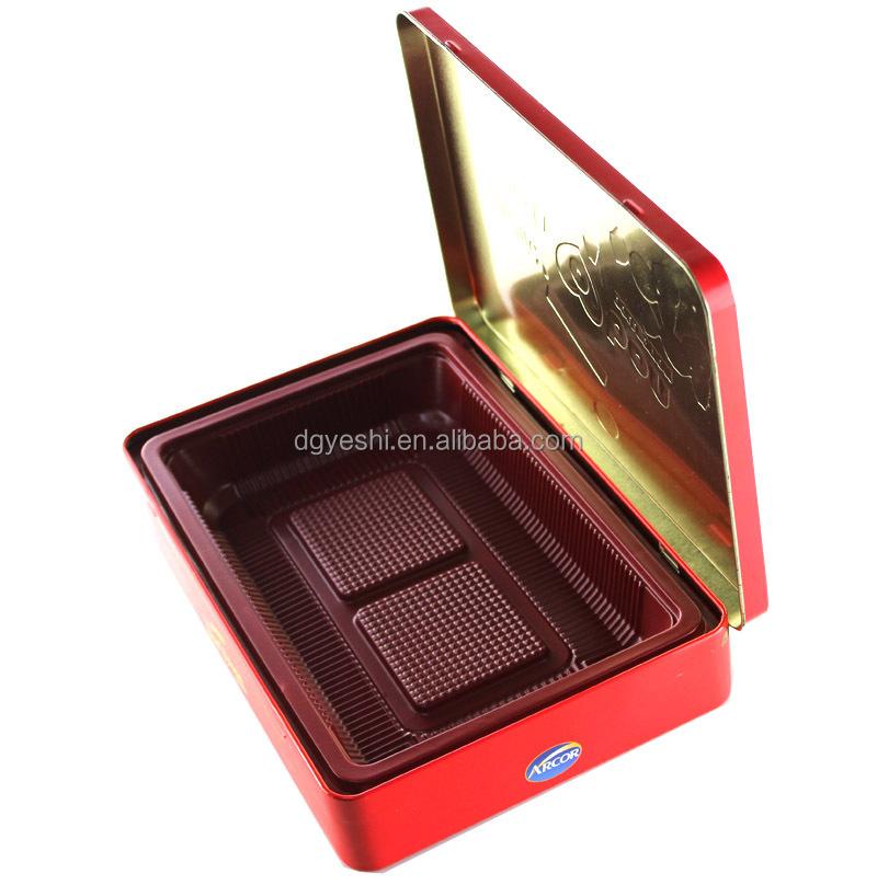 2014 Pizza Slice Tin Can Metal Candy Cake Storage Box wholesale