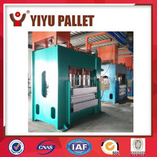 Moulded Molding Compressed Press Wood Pallet Profile Extrusion Production Line Making Machine