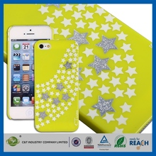 C&T Sublimation cell phone printing cartoon pc case for iphone 5 5s