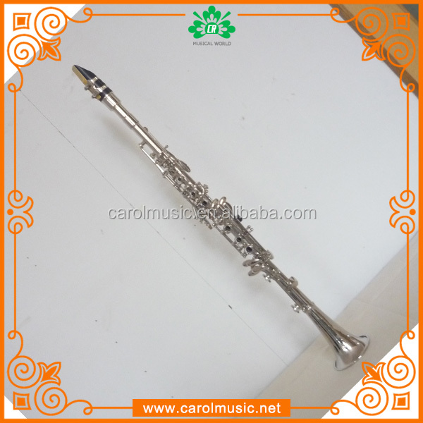 CL110 Musical Instrument Metal Clarinet