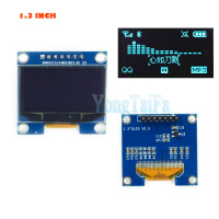 OLED 1.3 inch 128*64 Blue SPI and IIC Module LCD LED Display Module