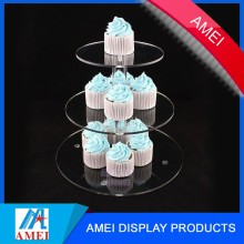 3 tier acrylic wedding cinderella carriage cake stand