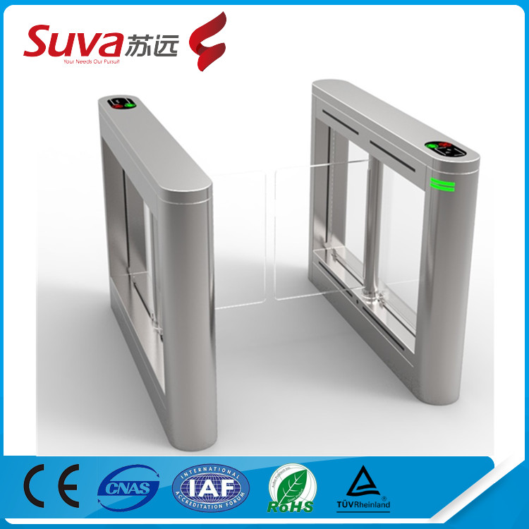 Entrance barriers security electronics automatic bi-directional swing gate/turnstiles