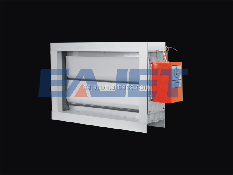 Galvanized motorized HVAC galvanized round fire damper for air regulation VCDA