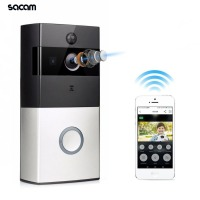 Battery Powered Wireless Doorbell Camera Smart Intelligent Intercom Ring Video CCTV Wifi Front Door Viewer Peephole Camera