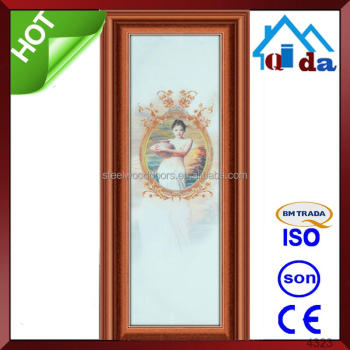 New Design Modern Aluminum Entry Door For House
