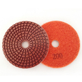 Diamond hand Resin flexible polishing pads stone