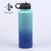 Stainless Steel Sports Water Bottle Double Wall Vacuum Insulated Bottle with Straw Cap