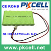 8.4v 750mAh NI-MH aaa battery rechargeable battery pack