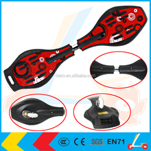 Best selling 2 wheels high quality PP snake board Land Surf board