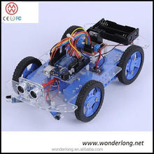 Hot and New Arduino smart robot car chassis kit