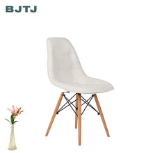 BJTJ Manufacturer Wholesale Chinese Leather Dining Chair Modern Wooden Chair