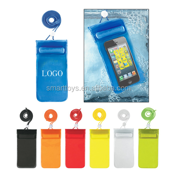Promotional gift outdoor waterproof mobile phone case with customized logo