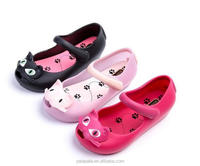 2017 new cheap wholesale kids fancy jelly shoes