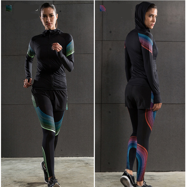 Yoga wear suit Fitness Running Clothes Seamless Sportswear Tracksuits Sport Bra and Pants Sets