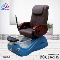 Modern luxury pedicure spa massage chair for nail salon with pedicure sofa chair S813-3