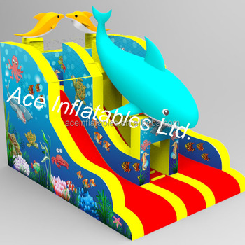 Sea World New Inflatable Slide
