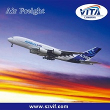 Cheap air shipping services rates from Guangzhou/Shenzhen China to USA