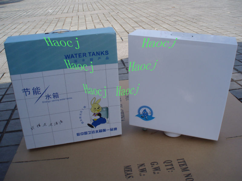Sanitary ware toilet water tank Plastic public toilet cistern water tank Squat Toilets Water Tank