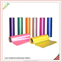 PP film material for christmas gift ribbon and bow