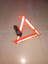 vehicle safety reflector warning triangle