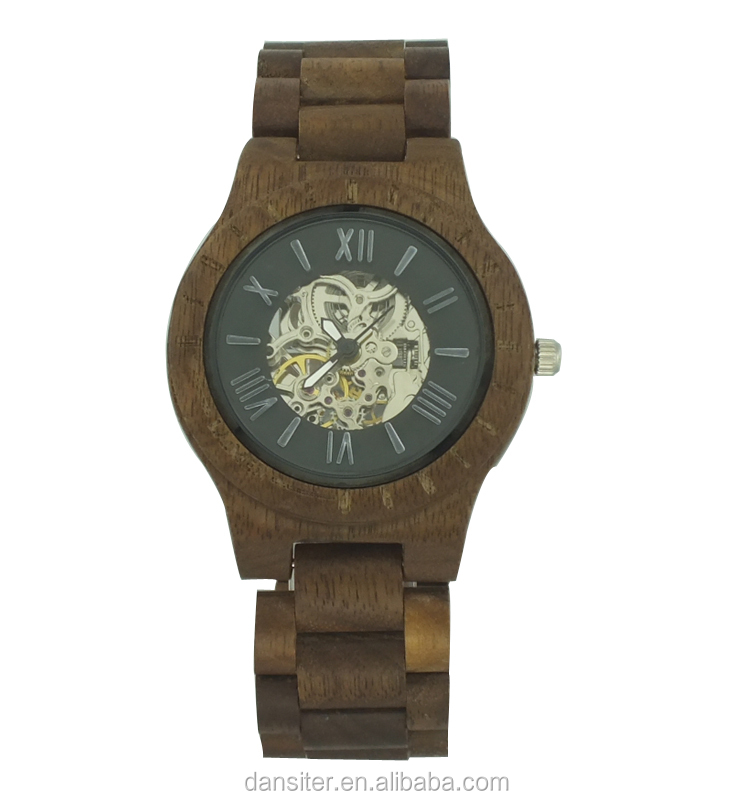 2017 Roles Automantic Luxury Mechanical Men Wood Watch