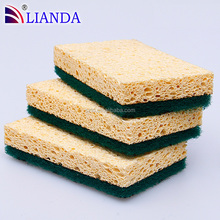 Household Power Cleaning Cellulose Sponge Pad
