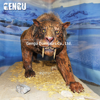 Animatronic Sabretooth Robot Animals For Sale