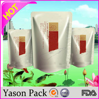 Yasonpack personalized pouches custom nylon pouch resealable foil pouches