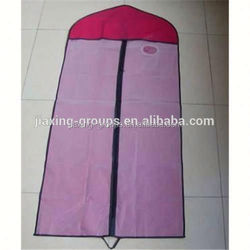 2014 new high quality non woven garment bag wholesale wholesale for suits.OEM orders are welcome.
