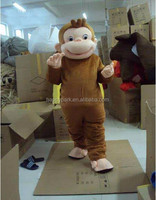 best selling curious george mascot costume