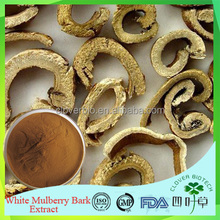 Manufacturer supply top quality White Mulberry root bark extract in bulk