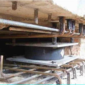 Earthquake Absorbing Damper Bearing for Bridge Made in China Exported to Nepal