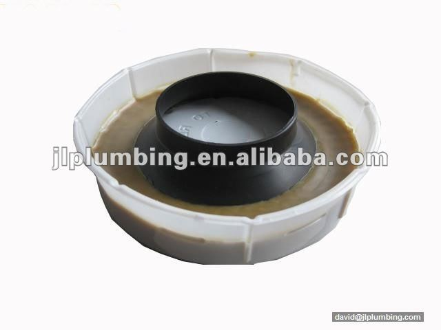 toilet bowl wax gasket with flange