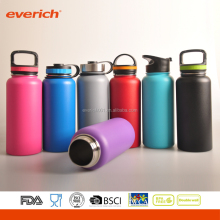 New Design Double Wall Insulated Wide Mouth Stainless Steel Water Bottle