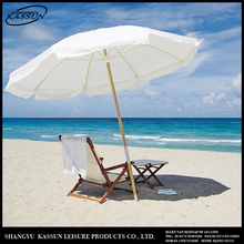 Widely use logo printed uv resistant indian garden parasols..