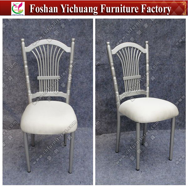 YCP11-1wholesale Chinese furniture silver king throne chair