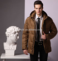 korean fashion jackets 100%polyester wind breaker down jacket for men