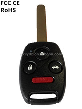 4 buttons keyless entry remote key for Honda Accord