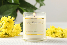 Luxury Gift Fancy Soy Candle Wax for Christmas Church