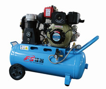 high quality portable diesel engine piston air Compressor 4.2HP