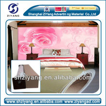 Shanghai high quality digital printing suede wallpaper