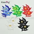 Top Patches Iron-on Sew-on Flower Embroidery Patch Motif Applique for Children Women DIY Clothes