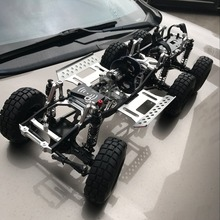 KYX RC Car All Metal Chassis 6WD Upgrade Chassis for Military Truck