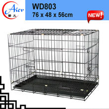 Manufacurer aluminum folding dog cage
