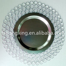 CP03 Wholesale charger plate, tableware catering service dishware charger plates and dishes centerpieces