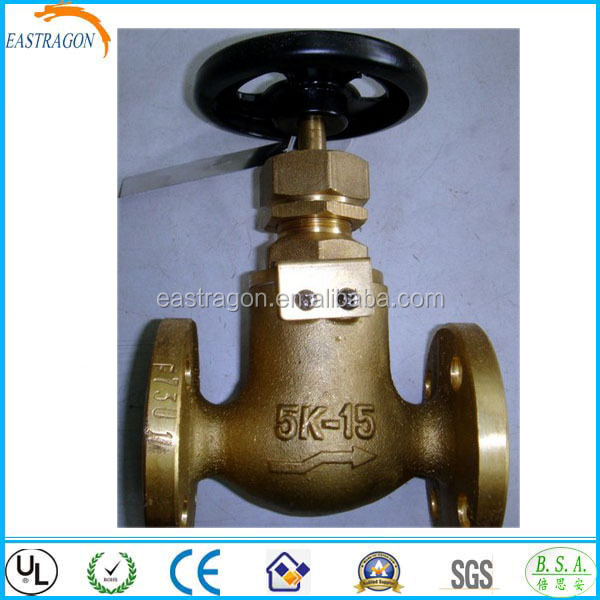 Marine Cast Bronze Stop Safety Valves with good price
